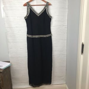 J KARA NEW YORK Black Evening Dress